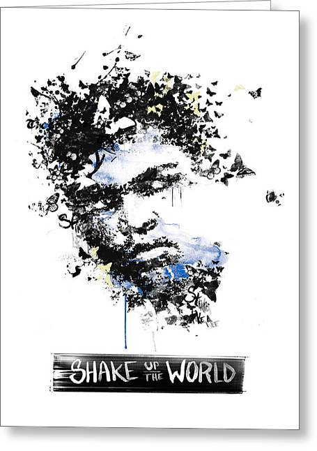 Historical People Greeting Cards - Muhammad Ali Greeting Card by Pop Culture Prophet