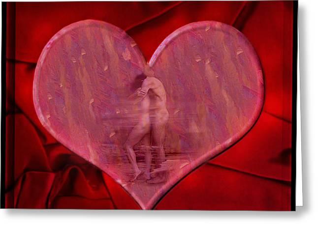 My Hearts Desire Greeting Card by Kurt Van Wagner