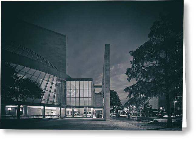 Analog Greeting Cards - Myerson Symphony Center - Dallas Greeting Card by Mountain Dreams