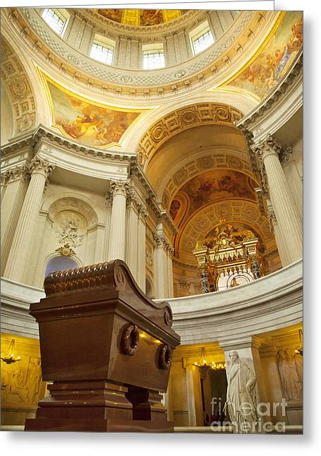 Invalides Greeting Cards - Napoleon Tomb - Paris Greeting Card by Brian Jannsen