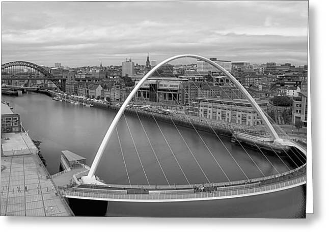 New Britain Greeting Cards - Newcastle on the Tyne Greeting Card by Mountain Dreams