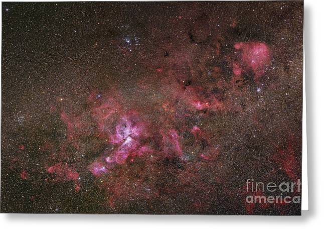 Ngc 3372, The Eta Carinae Nebula Greeting Card by Robert Gendler