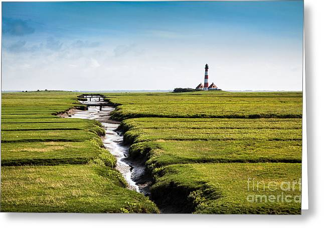 North Sea Greeting Cards - North Sea Greeting Card by JR Photography