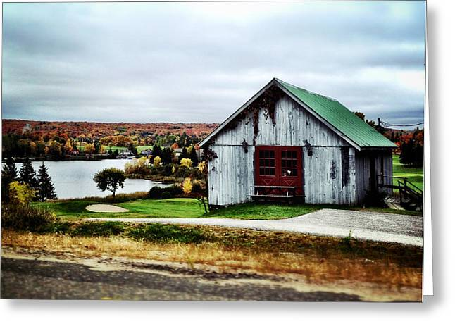 Barn Digital Greeting Cards - Northern Landscape Greeting Card by Natasha Marco
