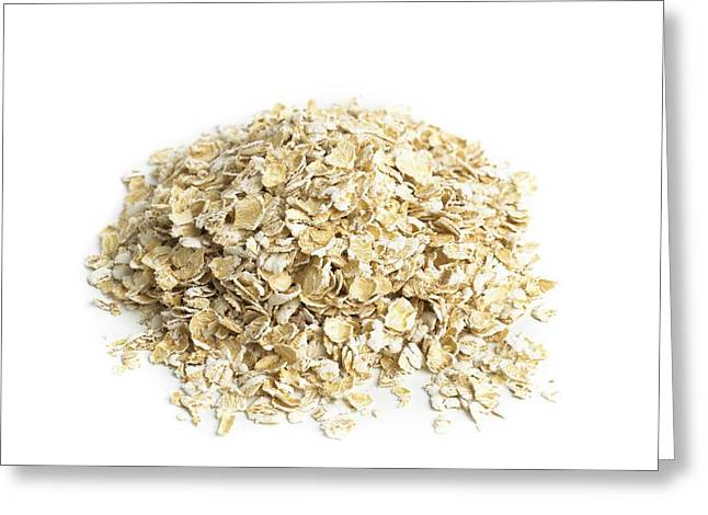 Oats Greeting Card by Science Photo Library