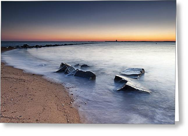 Sandy Point Park Greeting Cards - 2 Of 3 Aint So Bad Greeting Card by Edward Kreis