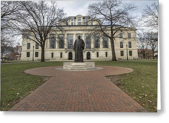 The Ohio State University Greeting Cards - Ohio State University Library  Greeting Card by John McGraw