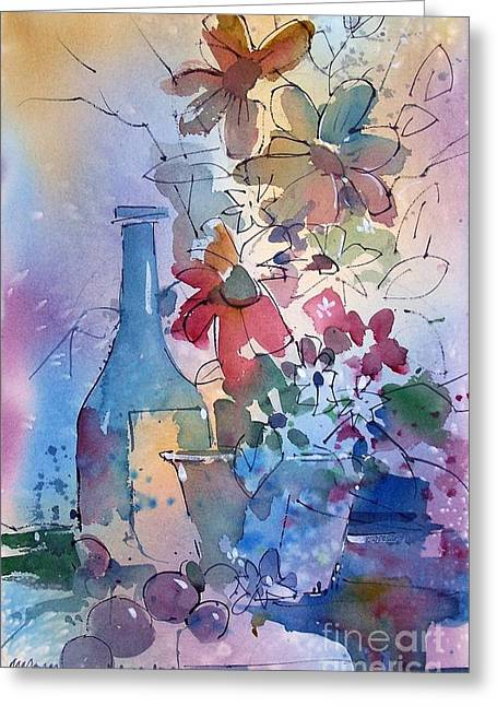 Oklahoma Wildflowers Greeting Card by Micheal Jones