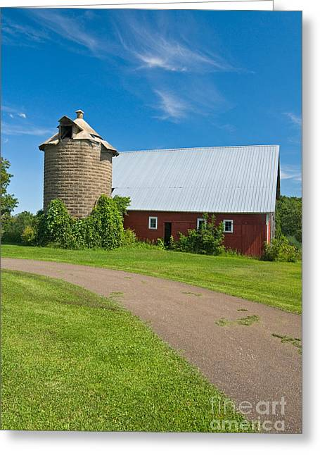 Old Barns Greeting Cards - Old Barn Greeting Card by Richard and Ellen Thane
