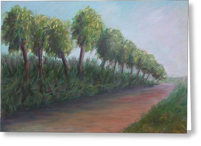 Eal Greeting Cards - Old Florida Road Greeting Card by Patty Weeks