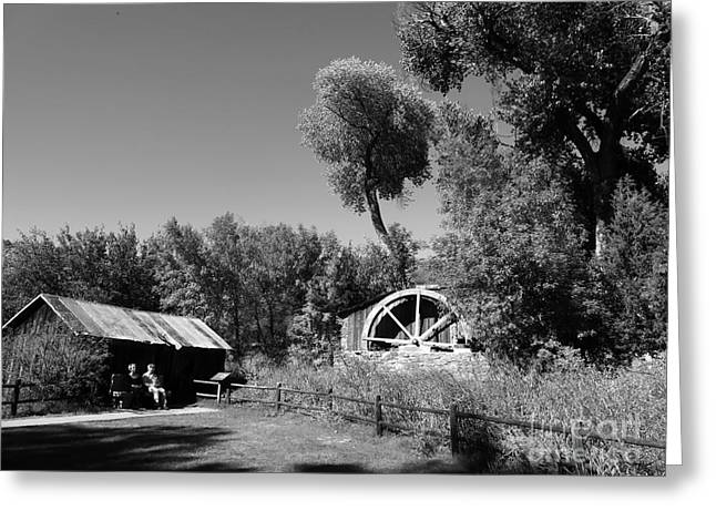 Red Rock Crossing Greeting Cards - Old Mill Greeting Card by R Dupras