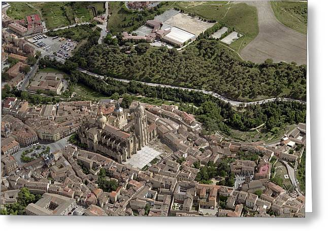 Castilla Greeting Cards - Old Town Greeting Card by Blom ASA