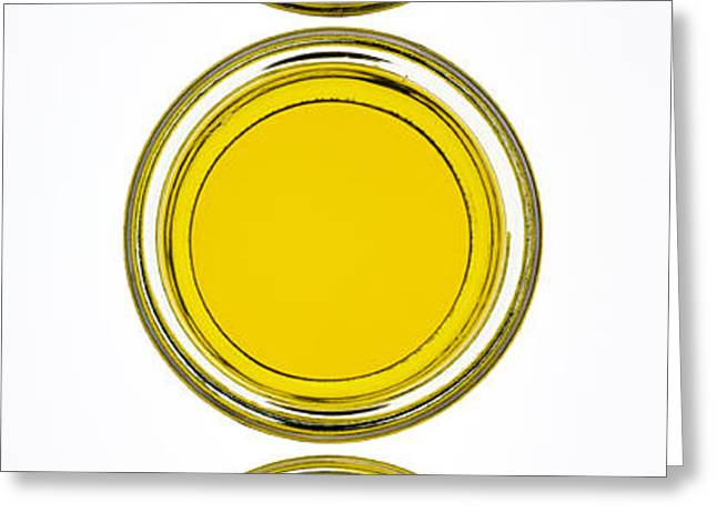 Olive Oil Greeting Card by Frank Tschakert