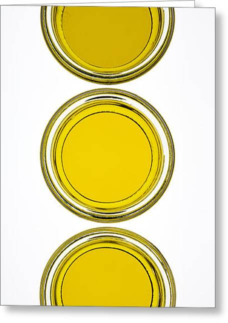 Olives Photographs Greeting Cards - Olive Oil Greeting Card by Frank Tschakert