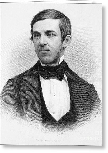 Oliver Wendell Holmes (1809-1894) Greeting Card by Granger