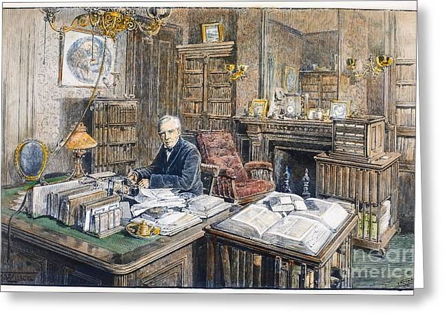 Wendell Greeting Cards - Oliver Wendell Holmes Greeting Card by Granger