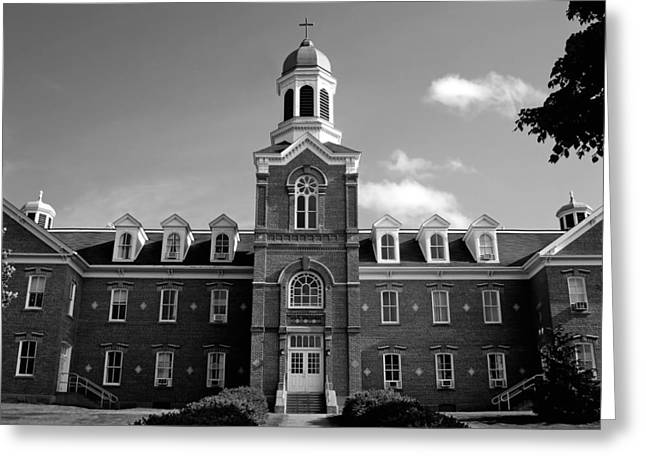Cupola Greeting Cards - On the Campus of St Francis University - Nova Scotia Greeting Card by Mountain Dreams