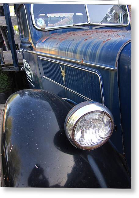 Guy Ricketts Photography Greeting Cards - One Headlight Greeting Card by Guy Ricketts