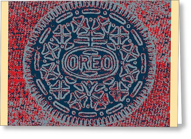 Oreo Greeting Cards - OREO in HOPE1 Greeting Card by Rob Hans