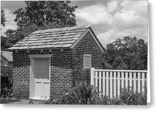 Home Of Andrew Jackson Greeting Cards - Out Building at The Hermitage Greeting Card by Robert Hebert