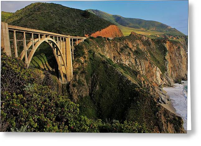 Scenic Drive Greeting Cards - Pacific Coast Highway Greeting Card by Benjamin Yeager