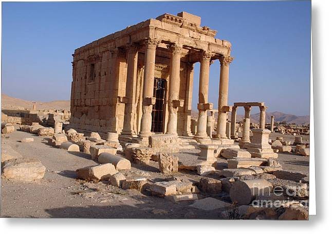 Baal Greeting Cards - Palmyra, Syria Greeting Card by Catherine Ursillo