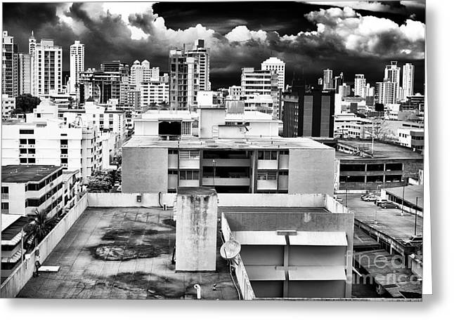 Panama City Greeting Cards - Panama City Greeting Card by John Rizzuto