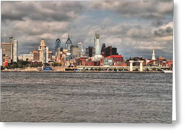 Phillies Greeting Cards Greeting Cards - Philadelphia Greeting Card by Melinda Dreyer