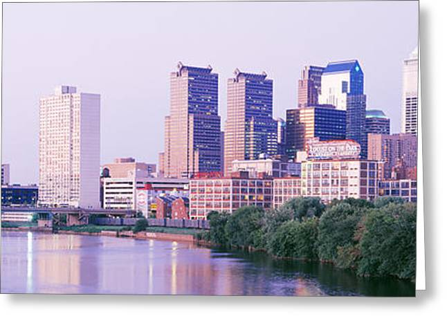 Pa.pennsylvania Greeting Cards - Philadelphia Pa Greeting Card by Panoramic Images