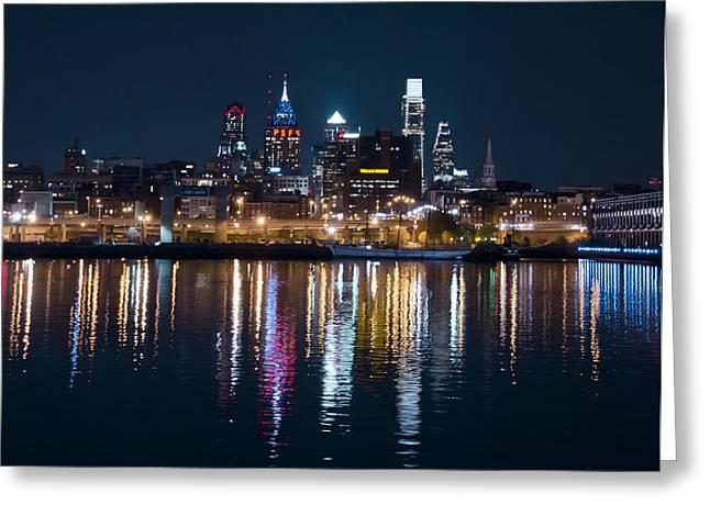 Philadelphia Digital Art Greeting Cards - Philadelphia Reflections Greeting Card by Bill Cannon