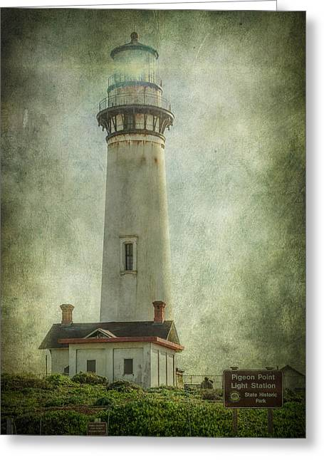 Pigeon Point Light Station Greeting Cards - Pigeon Point Light Station Greeting Card by Erik Brede