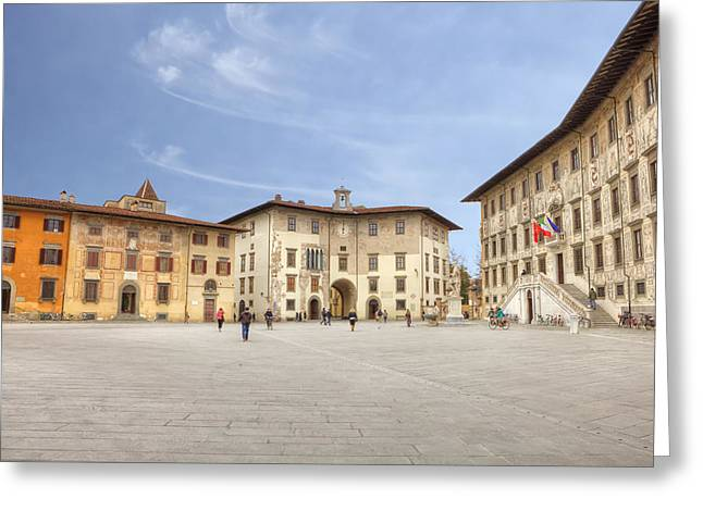 Pisa Greeting Cards - Pisa Greeting Card by Joana Kruse