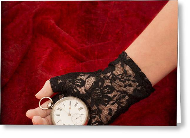 Pocket Watch Greeting Card by Amanda And Christopher Elwell