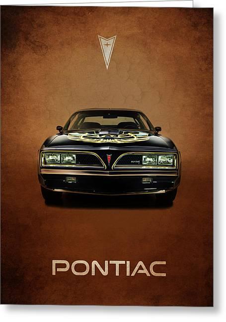 Transport Greeting Cards - Pontiac Firebird Trans Am Greeting Card by Mark Rogan