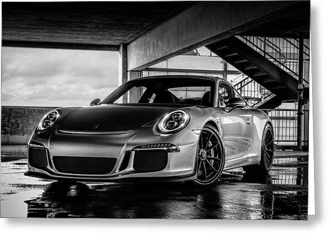 Auto Greeting Cards - Porsche 911 GT3 Greeting Card by Douglas Pittman