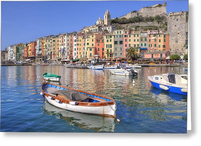 World Heritage Greeting Cards - Porto Venere Greeting Card by Joana Kruse