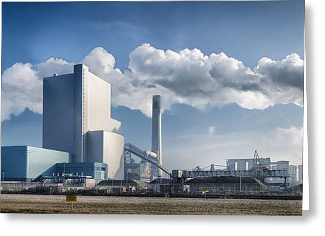 Generators Greeting Cards - Power Plant Greeting Card by Hans Engbers