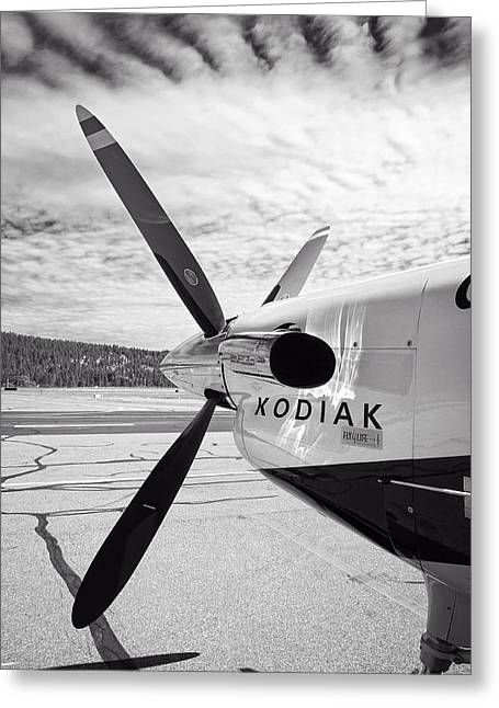 Turboprop Greeting Cards - Quest Kodiak Aircraft Greeting Card by Daniel Hagerman