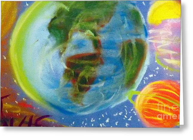 Planet Earth Pastels Greeting Cards - Recovery Greeting Card by Patrick Davis