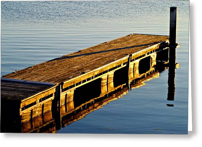 Reflecting Water Greeting Cards - Reflection Greeting Card by Frozen in Time Fine Art Photography