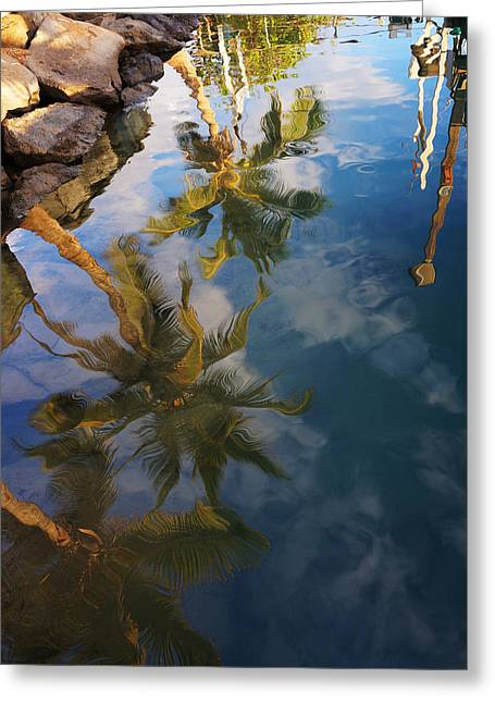 Lahaina Photographs Greeting Cards - Reflections Greeting Card by James Roemmling