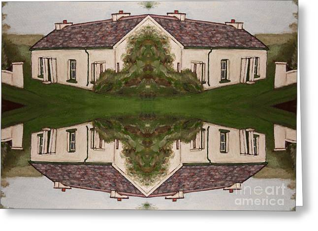 Merchandise Mixed Media Greeting Cards - Reflections Greeting Card by Patrick J Murphy