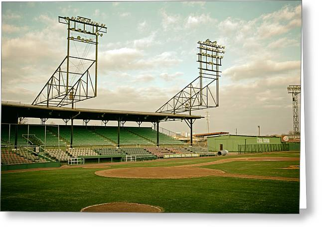 Minor League Greeting Cards - Rickwood Field Birmingham Alabama Greeting Card by Mountain Dreams