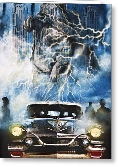 Larry Butterworth Greeting Cards - Riders On The Storm Greeting Card by Larry Butterworth