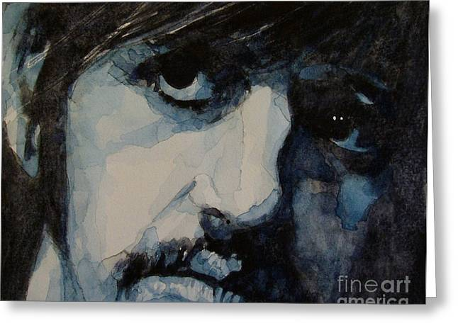 Art Legend Greeting Cards - Ringo Greeting Card by Paul Lovering