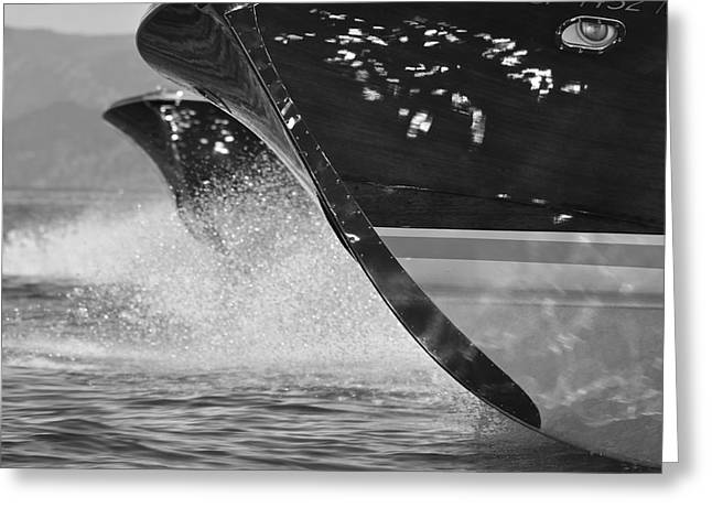 Mahogany Greeting Cards - Riva Runabouts Greeting Card by Steven Lapkin