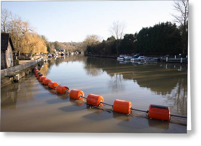 Kent Photography Greeting Cards - River Medway Greeting Card by Dawn OConnor