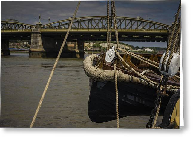 Kent Photography Greeting Cards - Rochester Bridge Greeting Card by Dawn OConnor