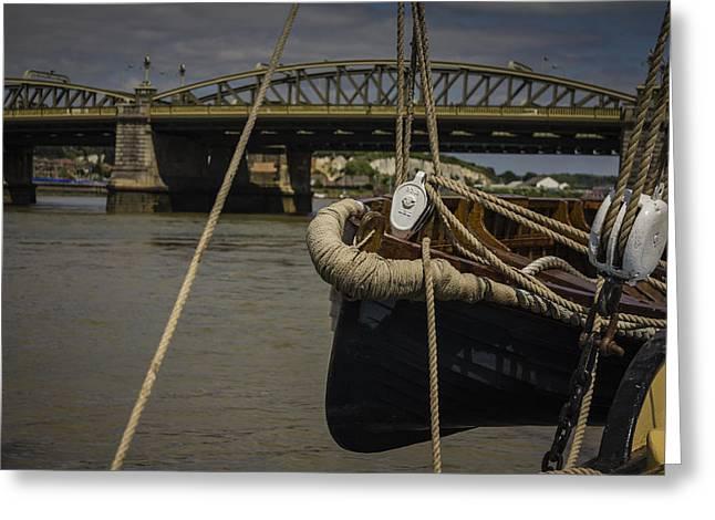 Dawn Oconnor Photographer Greeting Cards - Rochester Bridge Greeting Card by Dawn OConnor