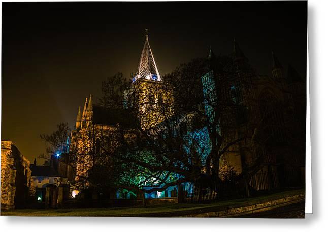 Dawn Oconnor Photographer Greeting Cards - Rochester Cathedral Greeting Card by Dawn OConnor